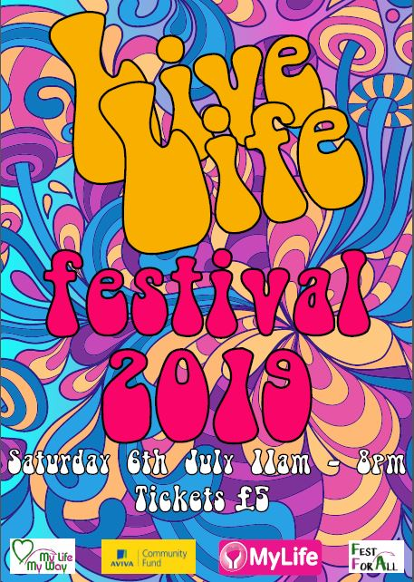 The Live Life Festival is coming!