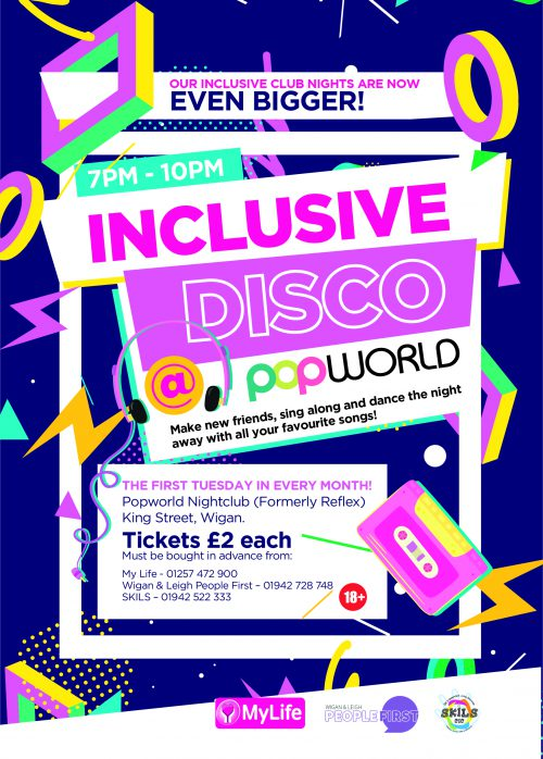 Our inclusive club nights are now even bigger and better, with the launch of Popworld!