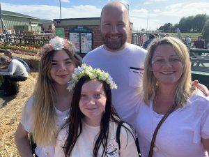 A family enjoying the Live Life Festival.