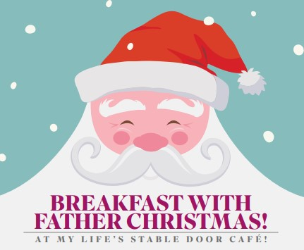 Bring your little one for Breakfast with Father Christmas!