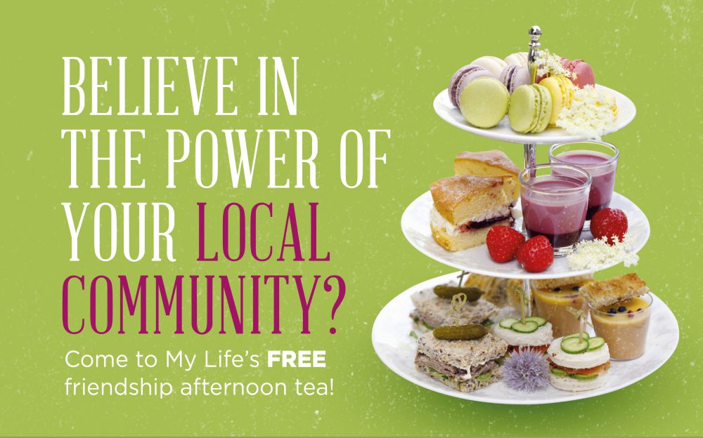 Live in Hindley? Celebrate YOUR community at our FREE afternoon tea!